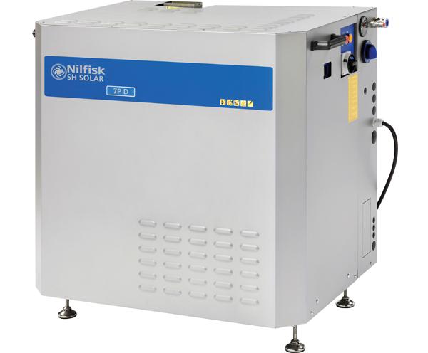 固定式热水高压清洗机